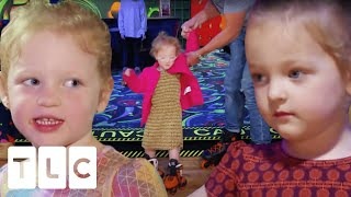 The Quints Go Roller Skating For The First Time | OutDaughtered