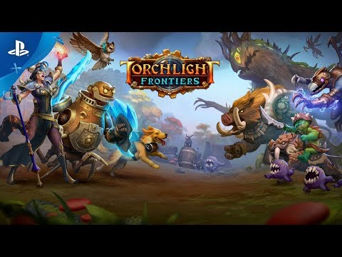 Torchlight Frontiers   Announce Trailer  PS4