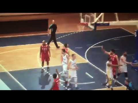 Jayon James Full Highlights 2017.02.07 vs Kozuv - Balkan League - 24 points 7 assists 7 steals!