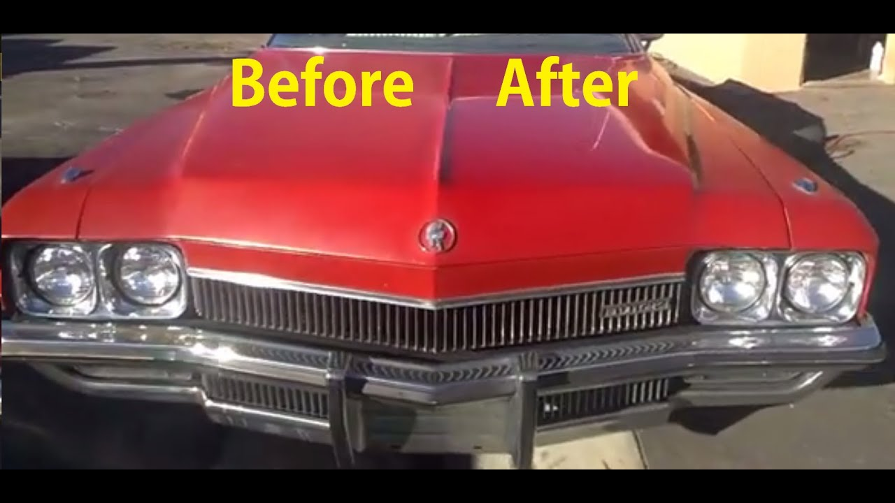 car polishing diy buffing auto restoration restore paint before after youtube. Black Bedroom Furniture Sets. Home Design Ideas