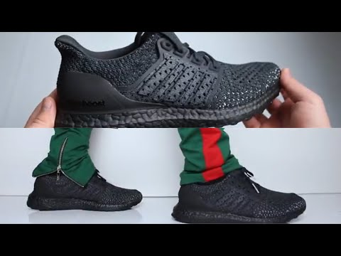 Adidas Ultra Boost Clima Triple Black UNBOXING & ON FEET