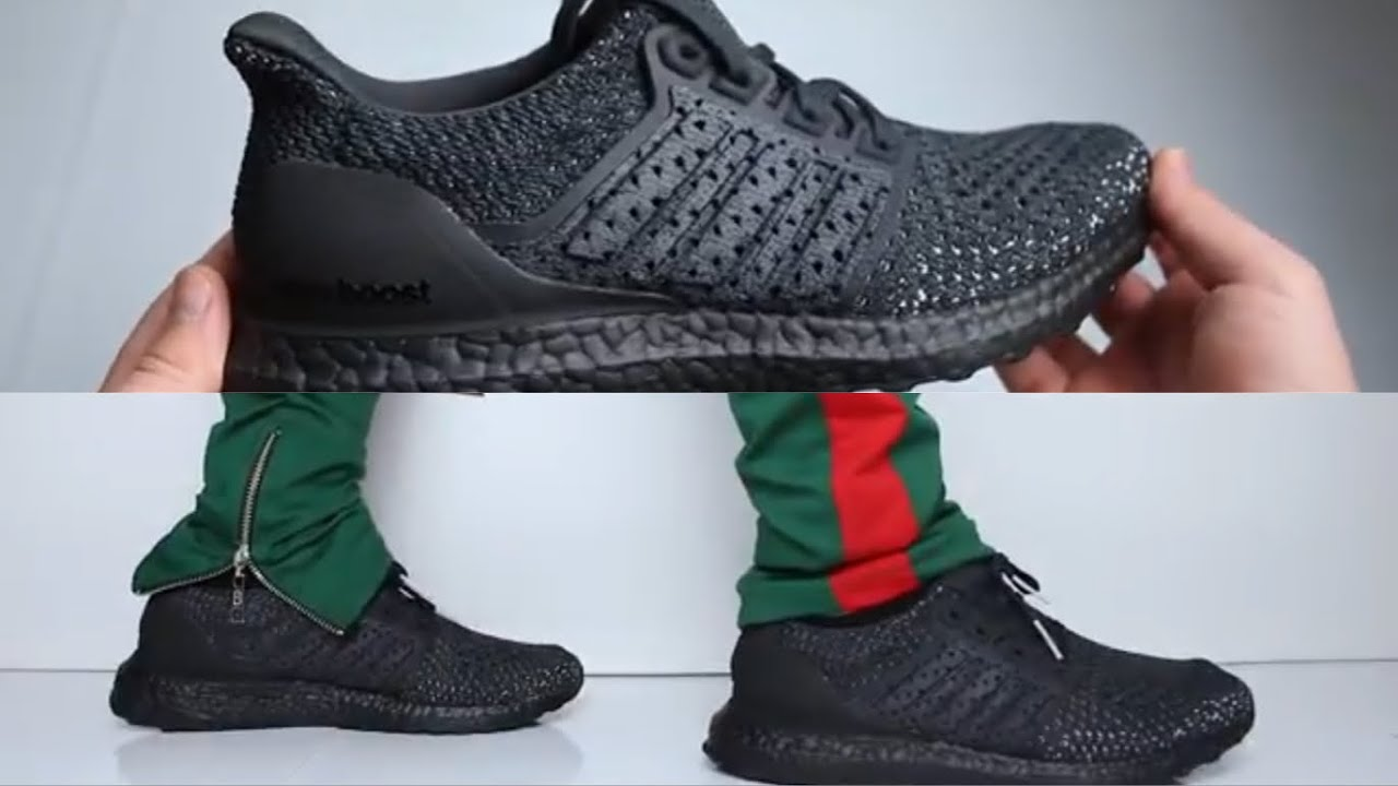 11b00b854 Adidas Ultra Boost Clima Triple Black UNBOXING   ON FEET - YouTube