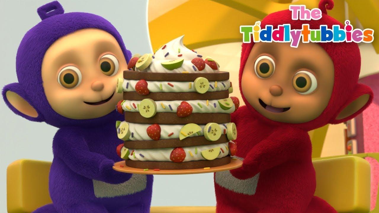 Episode 10: Tiddlytubbies Dirty Knees!   Tiddly Tubbies   Cartoons for Kids   WildBrain - Preschool