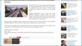 Secuestro de una joven en Ecatepec Edomex