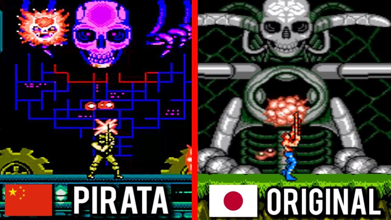 EL SORPRENDENTE CLON DE CONTRA HECHO EN CHINA! Desert Storm (NES - Family Game - Juego Pirata)