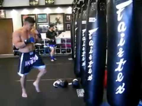 Fairtex Boxing Punch Bag 6ft Muay Thai Banana Bag Filled