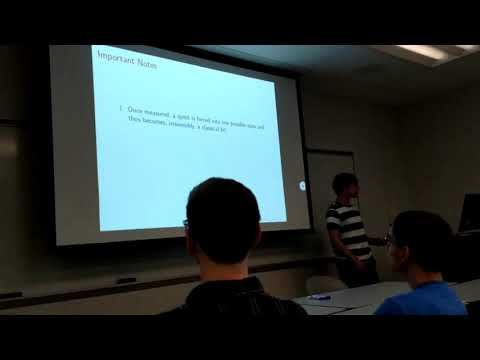 Basics of Quantum Computing and Shor's Algorithm