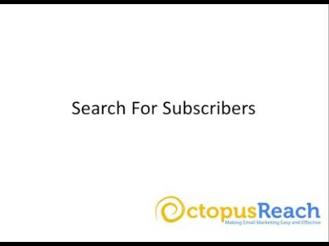 ORE Search for Subscribers
