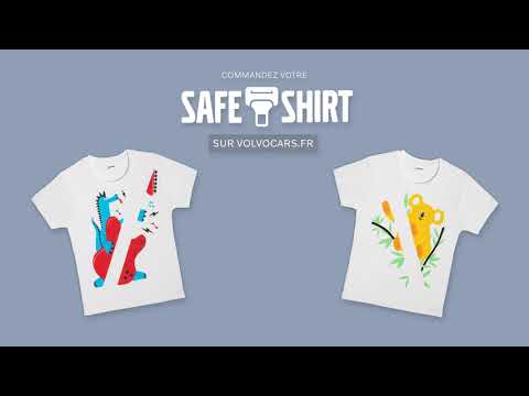 Volvo Car France lance le Safe Tshirt