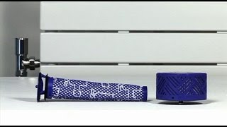 dyson v6 absolute and v6 mattress washing the filters official dyson video