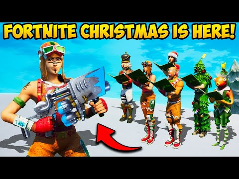 *NEW EVENT* FORTNITE CHRISTMAS IS HERE!! - Fortnite Funny Fails and WTF Moments! #1120