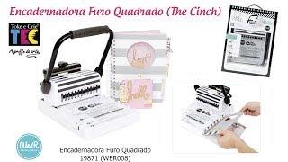 Encadernadora Furo Quadrado (The Cinch) - Toke e Crie