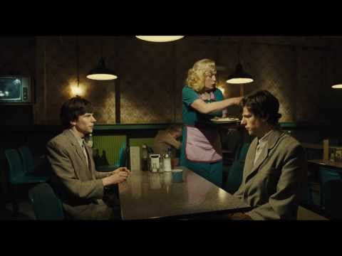 THE DOUBLE - Simon and James at the Diner - Clip
