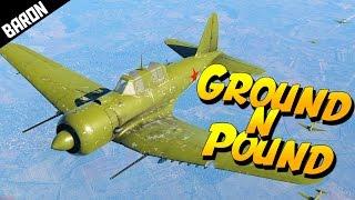 Ground N Pound, Su-6 Twin 37mms of Pain - War Thunder Gameplay