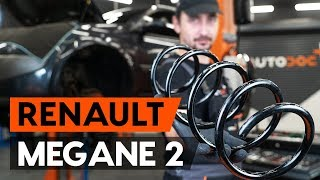 How to replace Suspension springs RENAULT MEGANE II Saloon (LM0/1_) Tutorial