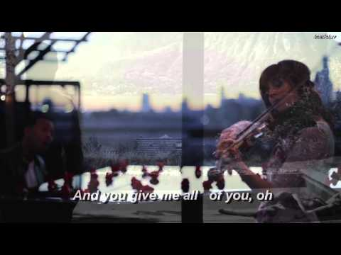 All Of Me - John Legend & Lindsey Stirling (lyrics)