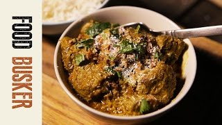 Easy Beef Rendang Curry Recipe | Food Busker