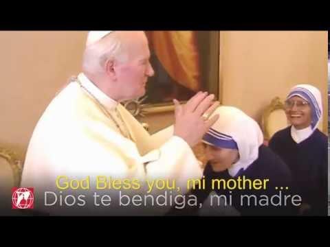 John Paul II & Mother Teresa of Calcutta: Beautiful frienship
