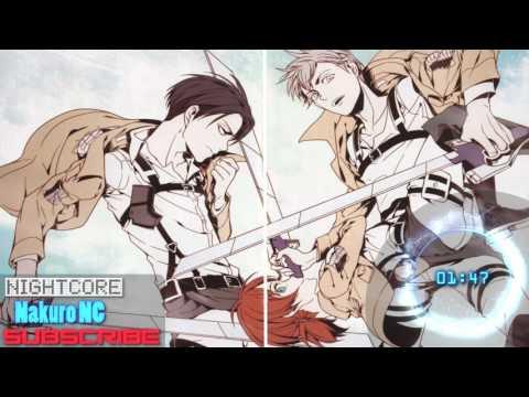 Nightcore - SOS SEKAI NO OWARI (Attack on Titan end of the world theme song)