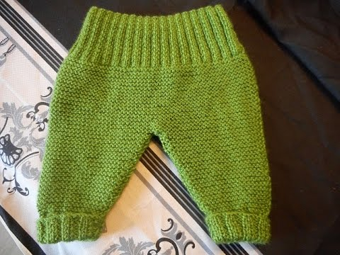 tuto bebe tricot