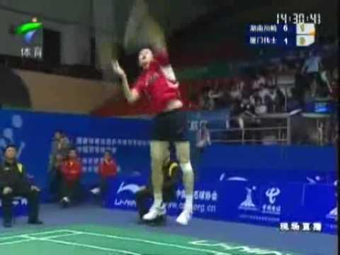 China Badminton League 2009-Bao Chunlai (Hunan) vs (Xiamen) Chen Long 5/7