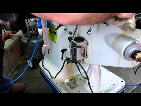 Bridgeport Mill Periodic Maintenance