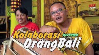Musik Syahdu! Kolaborasi Suling Bali VS Gendang Sunda