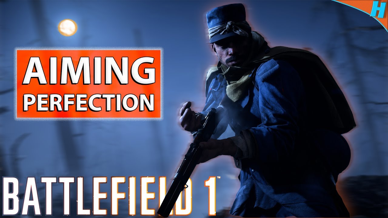 PC MOUSE SENSITIVITY & SETTINGS AIMING GUIDE - Battlefield 1 | BF1 How To  Fix Your Aim Tips