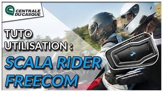Tuto : utiliser un Bluetooth Cardo Scala Rider Freecom - Centrale-du-casque.com