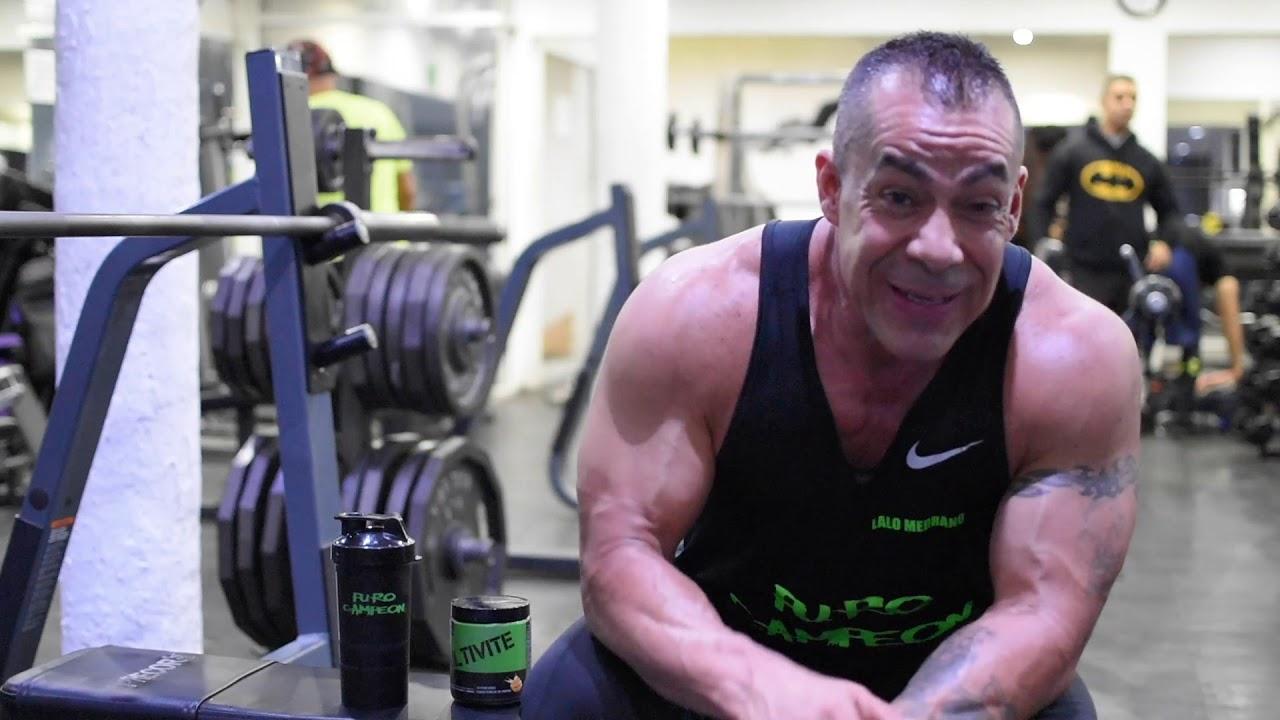 Rutina de espalda por Lalo Medrano atleta Puro Campeon