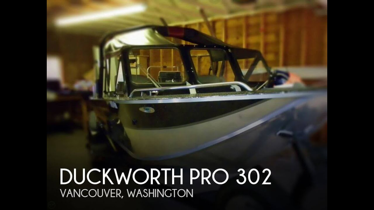 SOLD: Duckworth Pro 302 boat in Vancouver, WA   116330