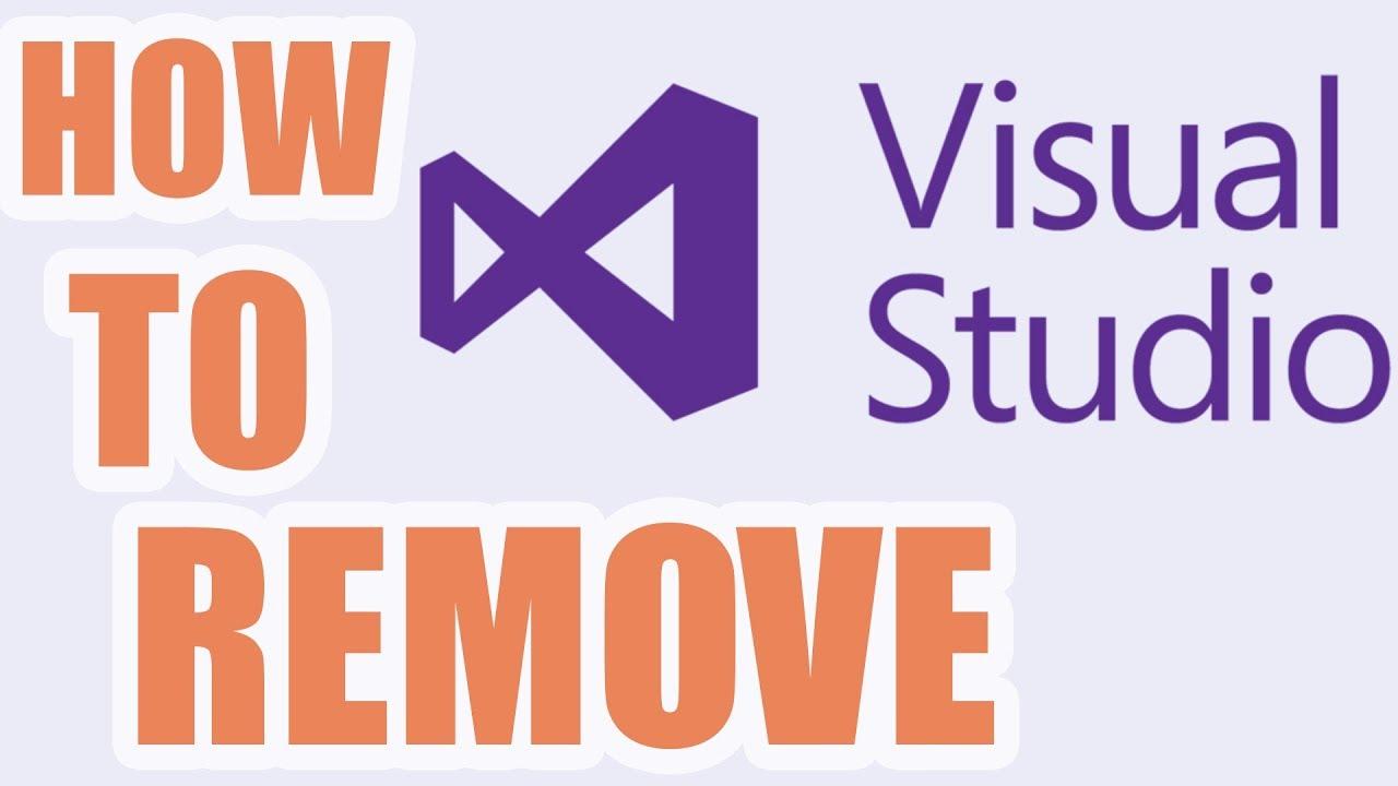 Cách gỡ Visual Studio 2015 hoàn toàn   How To Uninstall Visual Studio 2015