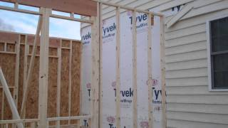 Garage And Laundry Room Addition - Framing