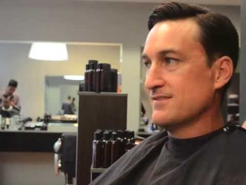 A Mad Men haircut by Lawsons Mens Hair Sydney - YouTube