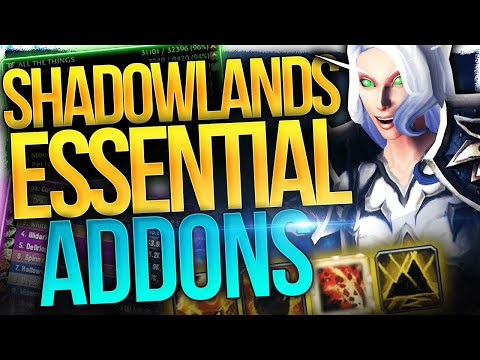 Big Quality Of Life WINS! The 30+ Awesome Shadowlands Addons & Must Have WeakAuras