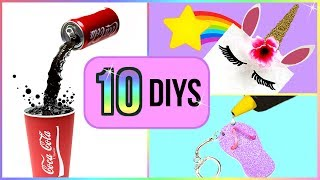 5-Minute Crafts To Do When You're BORED! 10 Quick and Easy DIY Ideas! Amazing DIYs & Craft Hacks!