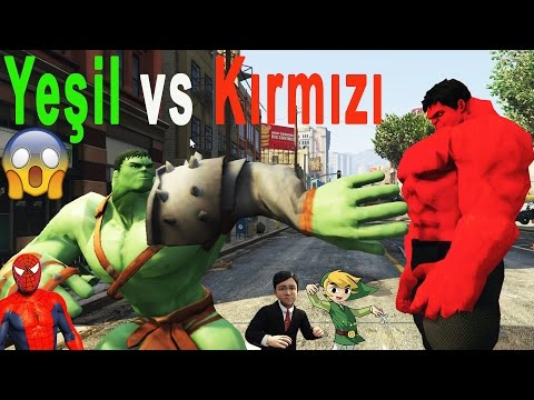 Şimşek Mcqueen Ve Örümcek Adam, Kırmızı Hulk İnanılmaz Savaş, Afacan Ve Akıllı Çaresiz