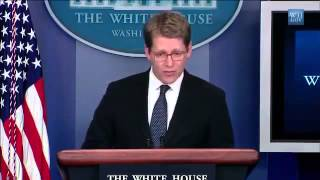 Watch Jay Carney Lie About The Colombian Prostitution Scandal