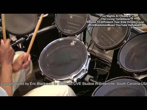 Five Nights At Freddy's Electronic Drum Cover Roland TD-8/Pintech Tour Elite FunkGuitarGuru Funk