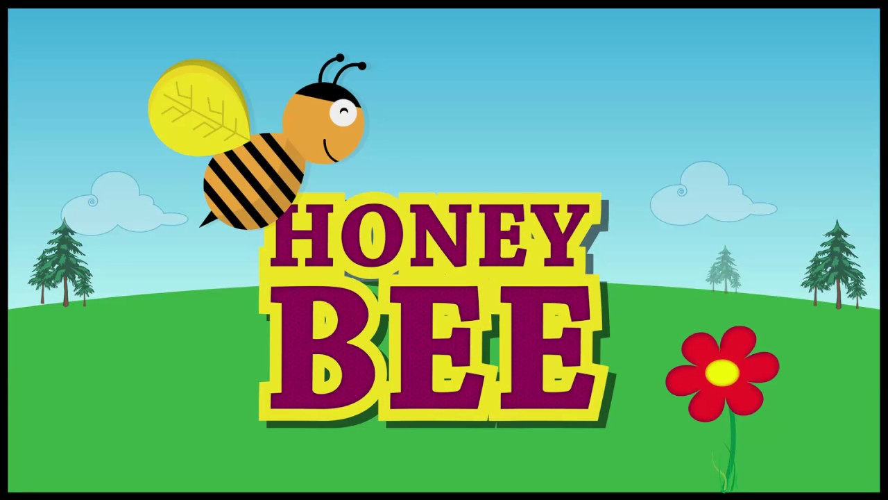 Adobe Illustrator Honey Bee Cartoon With Background Making Video Youtube