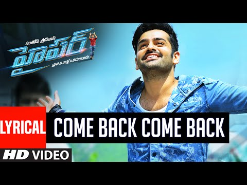 Hyper Songs | Come Back Video Song With...