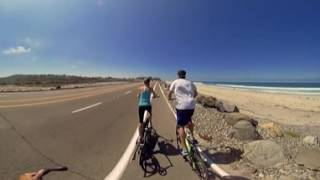 ElliptiGO bikes 360° video 1st person POV Beach Group