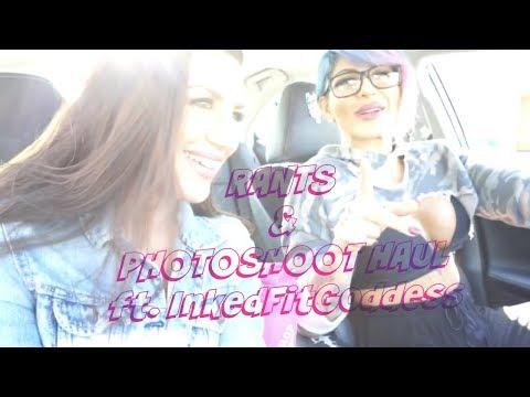 RANTS & Phototshoot Haul | L.A Vlog Ft. InkedFitGoddess.