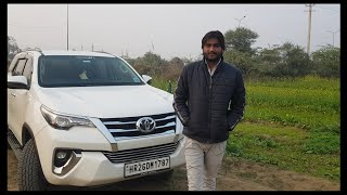 Toyota Fortuner Review Hindi