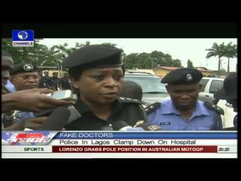 Lagos Police Clamp Down On Fake Hospital