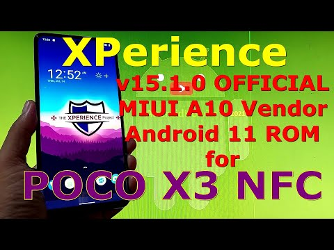 XPerience v15.1.0 OFFICIAL for Poco X3 NFC (Surya) Android 11