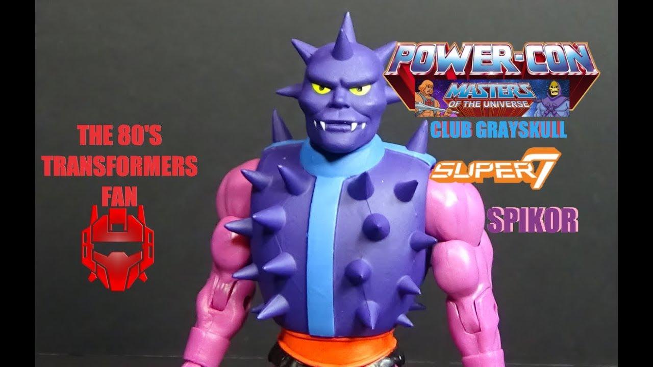 Super 7 MOTU Masters of the Universe Club Grayskull Power Con Spikor