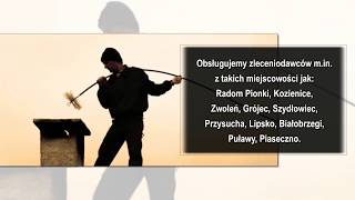 Usługi kominiarskie Montaż wkładów kominowych Zwoleń Usługi kominiarskie Wojciech Tyburski