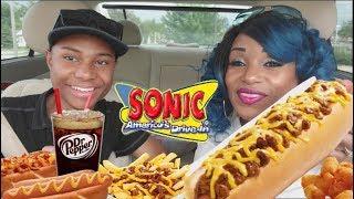Sonic mukbang eating show