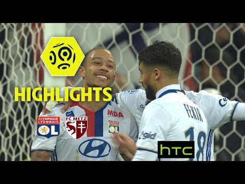 Olympique Lyonnais - FC Metz (5-0) - Highlights - (OL - FCM) / 2016-17